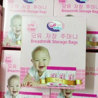 tuan0115 TÚI TRỮ SỮA GB baby Hàn Quốc( 50 túi) tuan0115