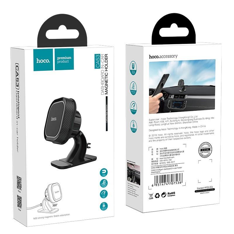 [Thoto Shop] Giá đỡ điện thoại HOCO CA53 đế hít nam châm, gắn trên tablo ô tô/ bàn làm việc - hàng chính hãng
