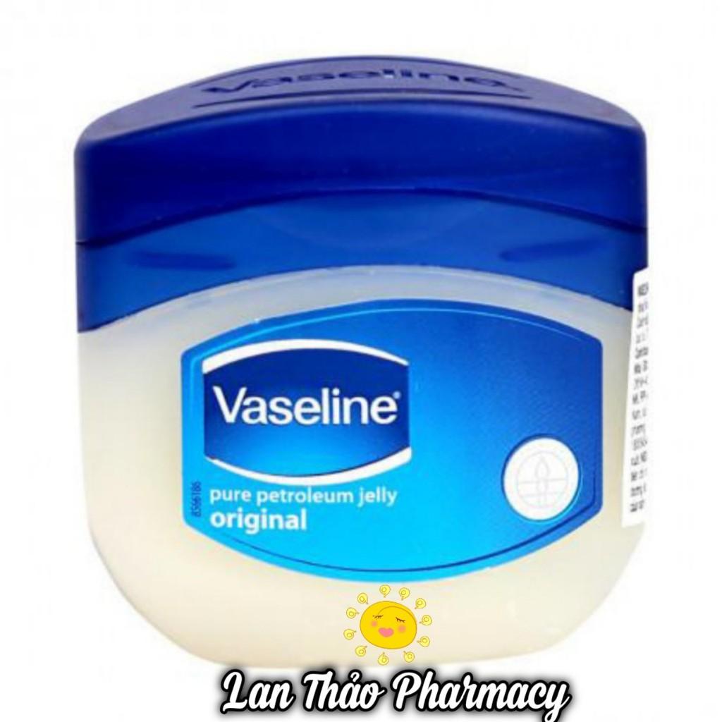 [CHÍNH HÃNG] Sáp dưỡng ẩm Vaseline Original của Mỹ giúp da mềm mại chống khô da