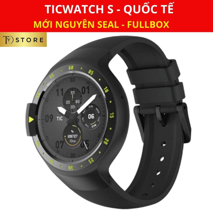 Đồng hồ thông minh Ticwatch S - Bản quốc tế, Nguyên Seal, Fullbox