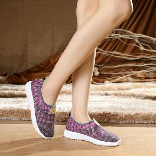 Giày lười giầy thể thao nữ đế cao 3.2 cm sang mà không chảnh màu tím - 3428690 , 796789812 , 322_796789812 , 140000 , Giay-luoi-giay-the-thao-nu-de-cao-3.2-cm-sang-ma-khong-chanh-mau-tim-322_796789812 , shopee.vn , Giày lười giầy thể thao nữ đế cao 3.2 cm sang mà không chảnh màu tím