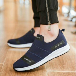 Giày yamamoto xanh