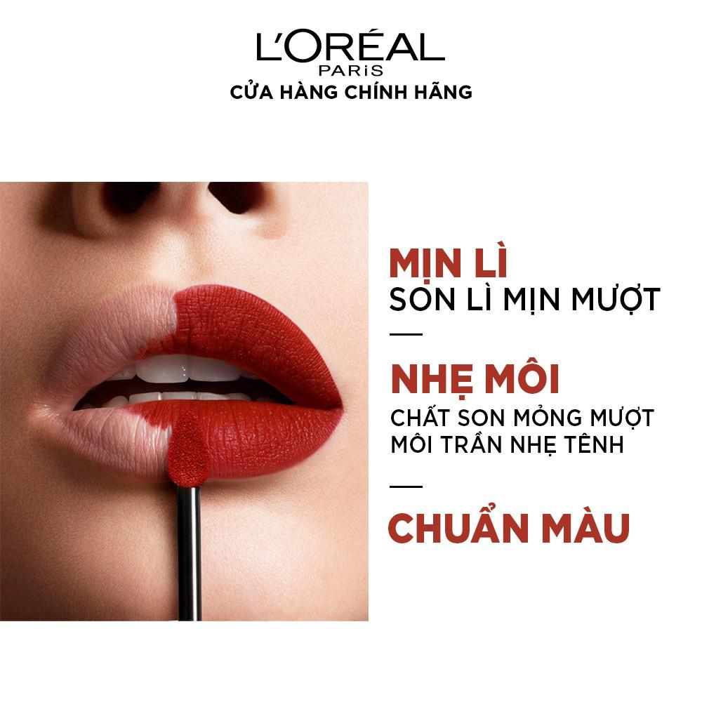 Son mịn lì cao cấp L'Oréal Paris Rouge Signature 7ml