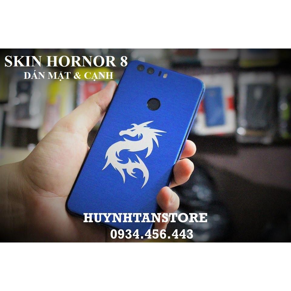 Skin Honor 8 _ Dán skin mặt lưng và full cạnh (không bao gồm logo)
