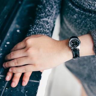 Đồng hồ nữ dây da Casio chính hãng Anh Khuê LTP-V006L-1BUDF