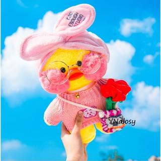 Gấu bông bé vịt má hồng nhiều kiểu xinh xinh