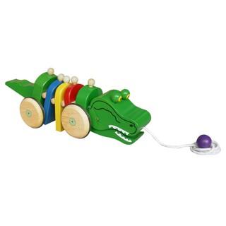 Đồ chơi gỗ Winwintoys, Xe kéo cá sấu.