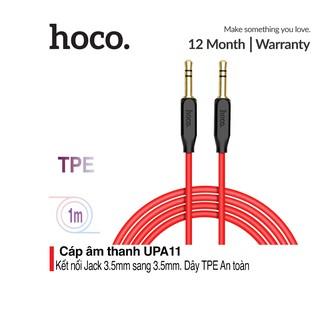 Cáp âm thanh Hoco UPA11 AUX dài 1m - Jack 3.5mm
