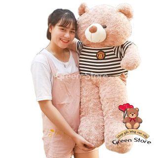 (Ảnh Thật 100%) Gấu bông Teddy khổ vải 1m2 Hàng Chuẩn loại 1 cao 1m