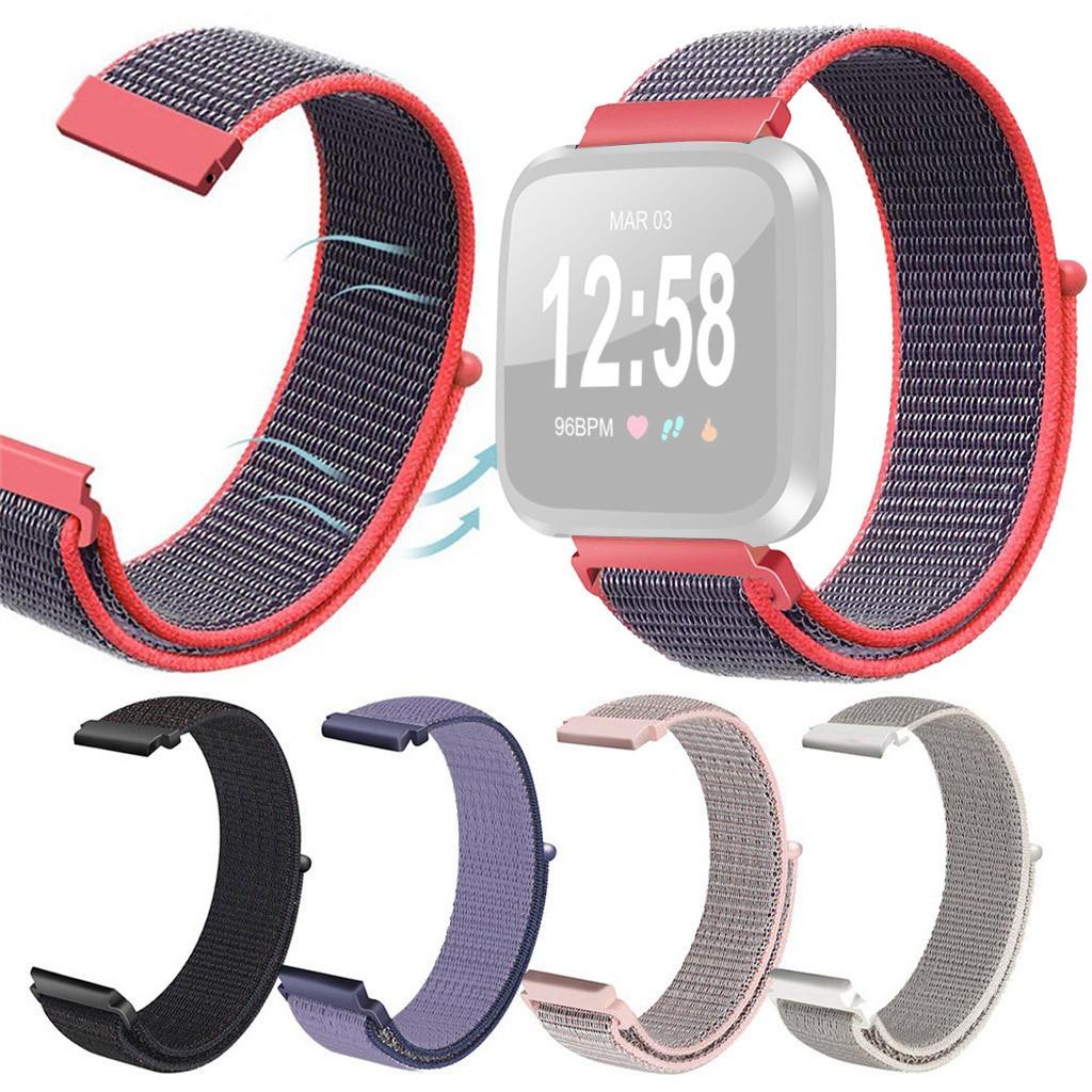 Dây đeo thay thế bằng nylon dành cho đồng hồ thông minh Fitbit versa Lite - 14080699 , 2187279587 , 322_2187279587 , 175000 , Day-deo-thay-the-bang-nylon-danh-cho-dong-ho-thong-minh-Fitbit-versa-Lite-322_2187279587 , shopee.vn , Dây đeo thay thế bằng nylon dành cho đồng hồ thông minh Fitbit versa Lite
