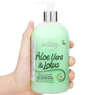 Nước rửa tay diệt khuẩn tinh chất lô hội và hoa sen Astonish C4660 Anh Quốc thumbnail