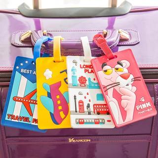 Thẻ đeo bảng tên silicon cho vali / hành lý bảng to