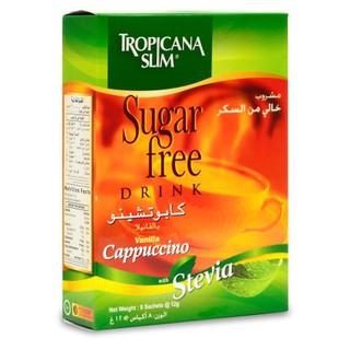 Cà phê ăn kiêng Tropicana Slim Capuccino 96g (8 x 12g) – Hàng phân phối độc quyền