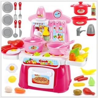 Đồ chơi nhà bếp có nhạc Toys House – Hàng Chính Hãng