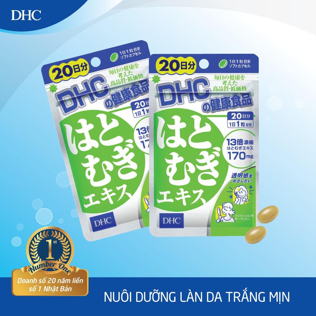Viên uống Trắng da DHC Nhật Bản Adlay Extract 20 Ngày (20 Viên)