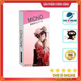 Bao cao su Michio gân gai nhập khẩu nhật hộp 12c - giá sỉ tốt nhất thumbnail