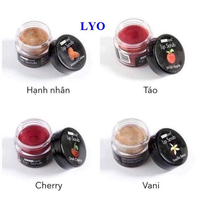 Tẩy da Chết Môi Beauty Treats Lip Scrub 10g