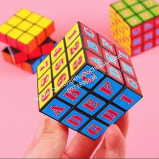 Đồ Chơi Thông Minh FREESHIP Rubik 3x3 Kết Hợp Chữ Số Học Độc Đáo, Xoay Trơn, Nhập [DO CHOI TRE EM] Có Qùa Tặng thumbnail