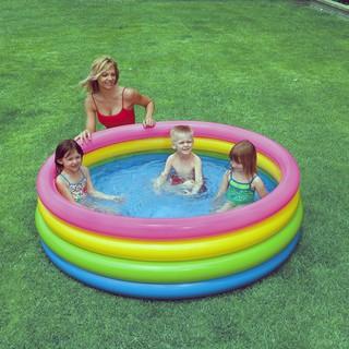 Hồ bơi Intex là bể bơi to dành cho nhiều bé có thể bơi cùng (168x46cm)