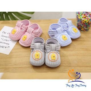 Giày tập đi cho bé trai và bé gái có chống trượt đế vải mềm mẫu vịt DK0201GVV thumbnail