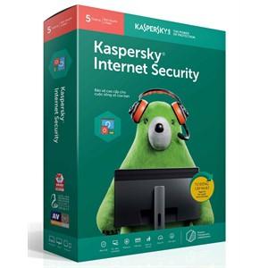 Phần mền diệt virus Kaspersky Internet Security 5pcs