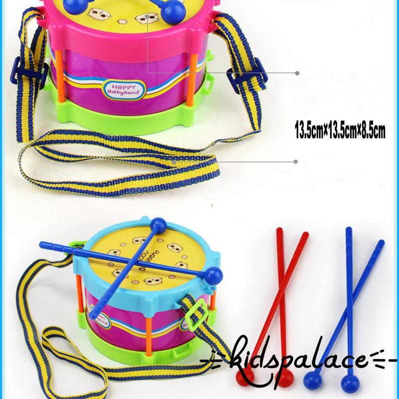 CAP-Kids Baby Infant Toddler Band Instruments Musical Toy Developmental Drum Kit Rattles