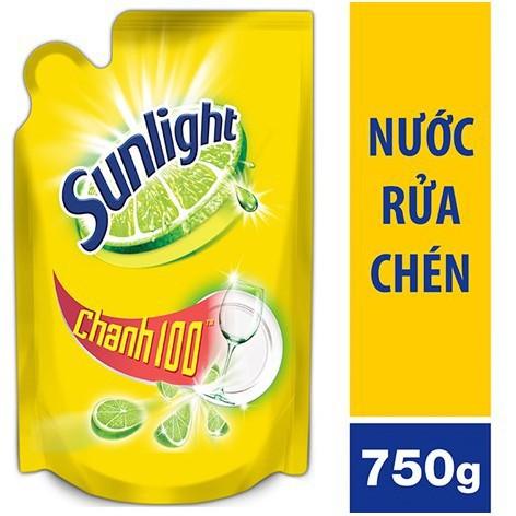 Nước rửa chén Sunlight( Chanh) 750ml