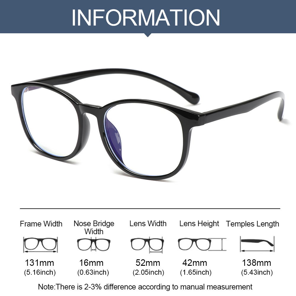 💎OKDEALS💎 Fashion Kids Glasses Portable Ultra Light Frame Comfortable Eyeglasses TR90 Online Classes Computer Children Boys Girls Eye Protection Anti-blue...