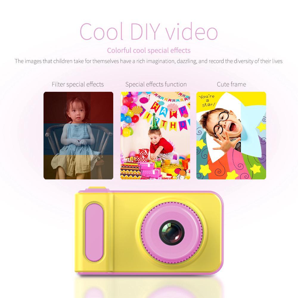 Mini Digital Camera 2 Inch Cartoon Cute Educational Toys Children Birthday Gift