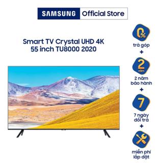 [Nhập SAM1KCE giảm 1 Triệu] Smart Tivi Samsung Crystal UHD 4K 50 inch UA50TU8000KXXV - Miễn Phí Lắp Đặt