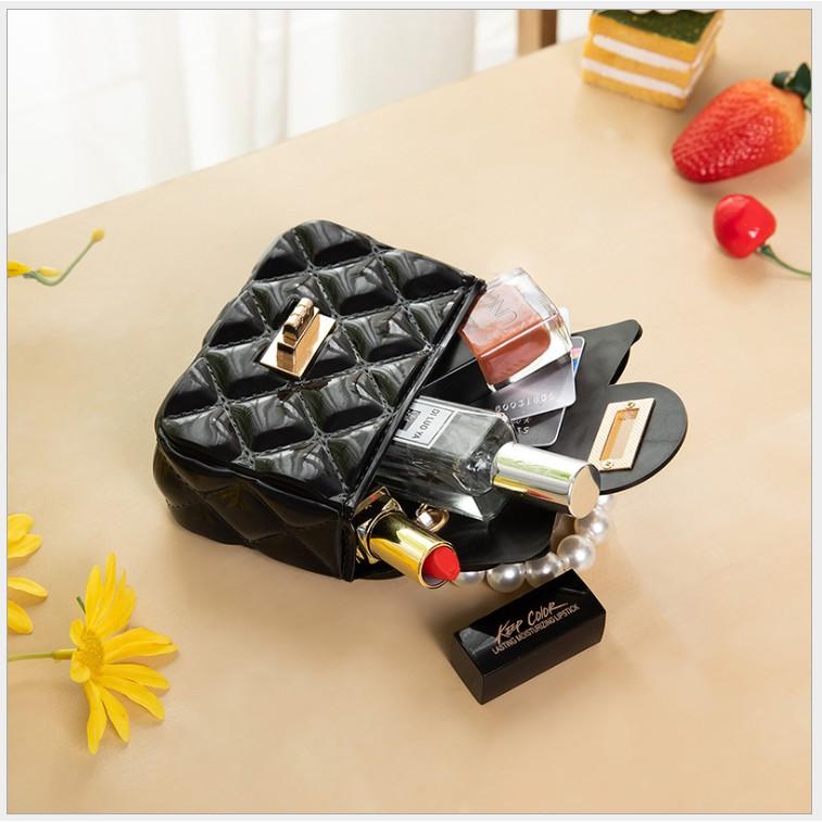 Túi mini nữ silicon đeo chéo dễ thương xinh xắn quai xách nhỏ siêu yêu GL47