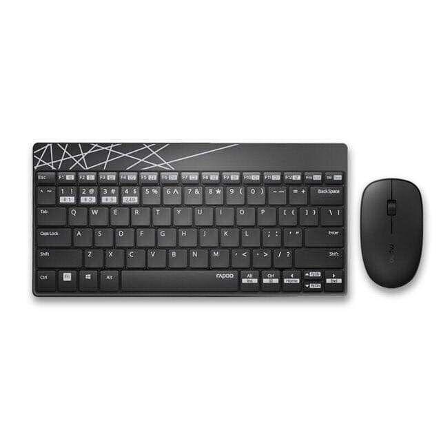 Bộ chuột và bàn phím không dây Multi Rapoo 8000M