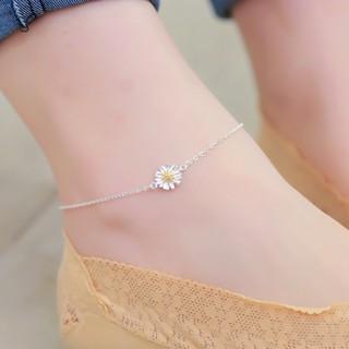 Lắc chân hoa cúc cực xinh, bạc S925 - LC39 thumbnail