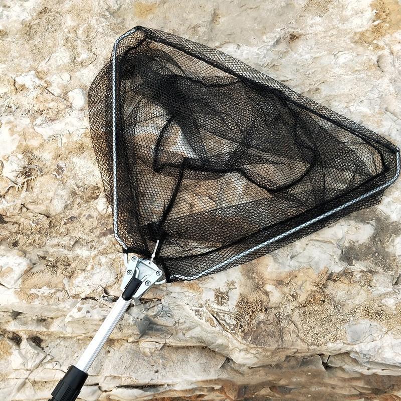 [CHẤT LƯỢNG TỐT] Vợt bắt cá tam giác 170CM cán nhôm thu gọn cao cấp