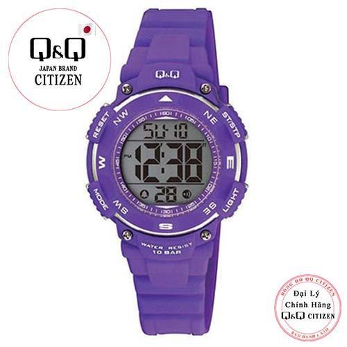 Đồng hồ điện tử Q&Q Citizen M149J003Y dây nhựa thương hiệu Nhật Bản