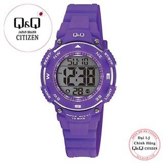 Đồng hồ điện tử Q&Q Citizen M149J003Y dây nhựa thương hiệu Nhật Bản thumbnail
