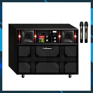 Loa kéo karaoke bluetooth di động Calisure VH-1520 | Bảo hành 12 tháng