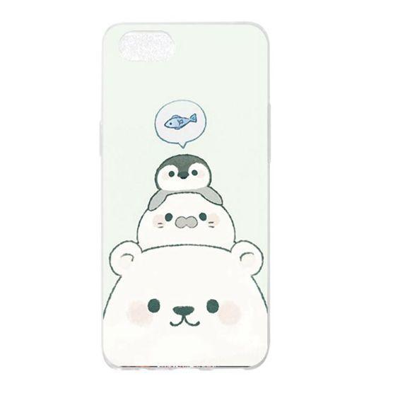 Ốp lưng silicon in hình gấu đáng yêu cho OPPO A3 A5 A3S A7 K1 R15X Realme 1 F9 R17 Pro