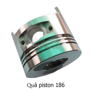 Quả pít tông máy xới dầu động cơ 186, Quả pít tông máy cày mini chạy bằng nhiên liệu dầu động cơ 186