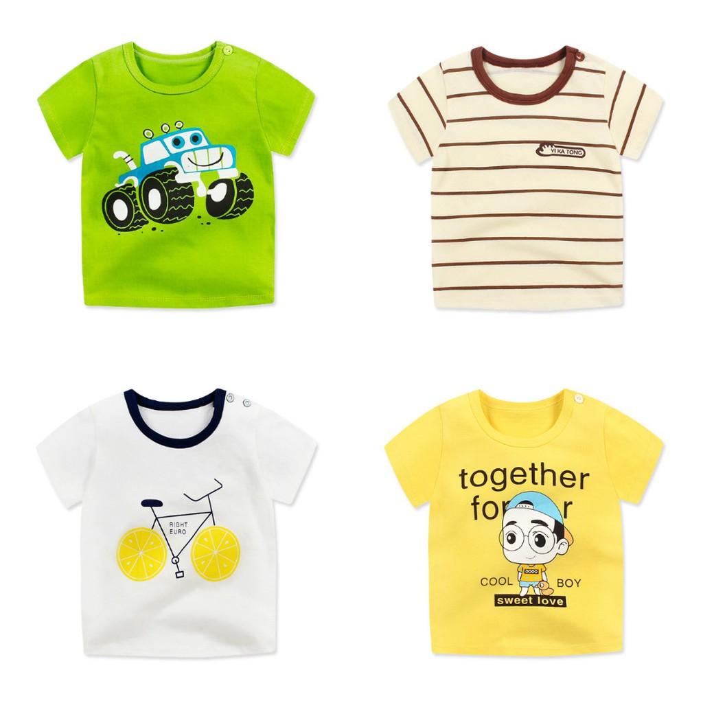 Áo phông cotton hút mồ hôi cho bé trai- bé gái - 2655086 , 1315946201 , 322_1315946201 , 60000 , Ao-phong-cotton-hut-mo-hoi-cho-be-trai-be-gai-322_1315946201 , shopee.vn , Áo phông cotton hút mồ hôi cho bé trai- bé gái