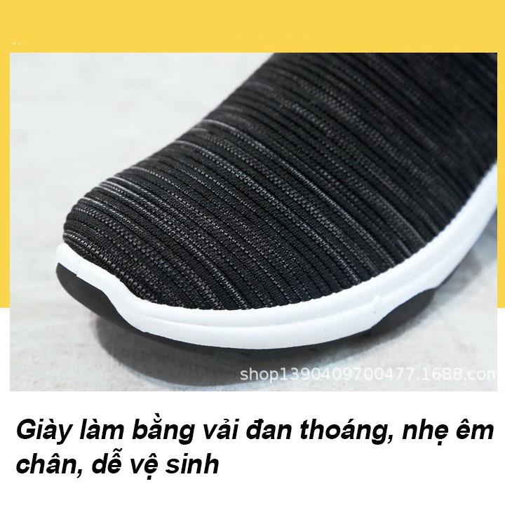 Giày Lười Thể Thao Nam 3Fashion Shop Vải Mềm Nhẹ Cực Kỳ Êm Chân - 3161