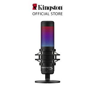 [Mã ELTECHZONE giảm 5% đơn 500K] Micro Kingston Thiết bị thu âm HyperX QuadCast S Led RGB