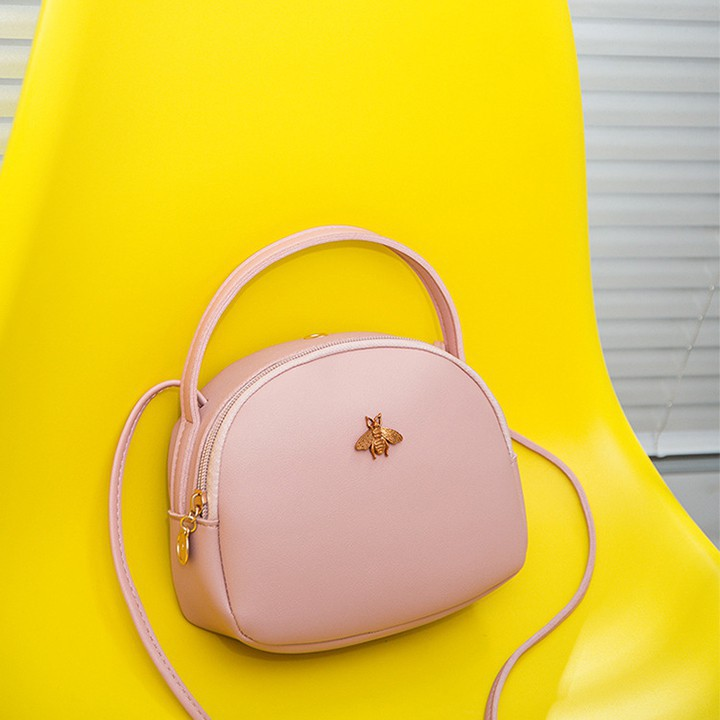 Túi xách thời trang nữ đính con ong cao cấp-TXN138 TT&GĐ