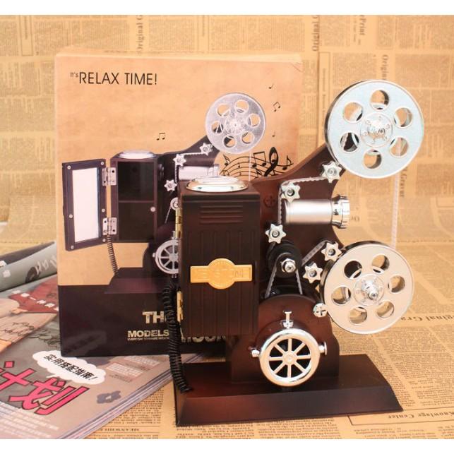Hộp nhạc máy chiếu phim cổ điển tinh tế và sang trọng - 3045063 , 807059146 , 322_807059146 , 220000 , Hop-nhac-may-chieu-phim-co-dien-tinh-te-va-sang-trong-322_807059146 , shopee.vn , Hộp nhạc máy chiếu phim cổ điển tinh tế và sang trọng
