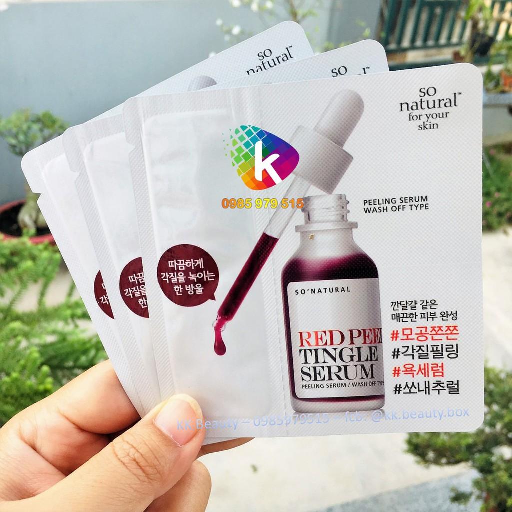 (Gói 2.5ml) Thay da sinh học Red Peel Tingle Serum / RedPeel