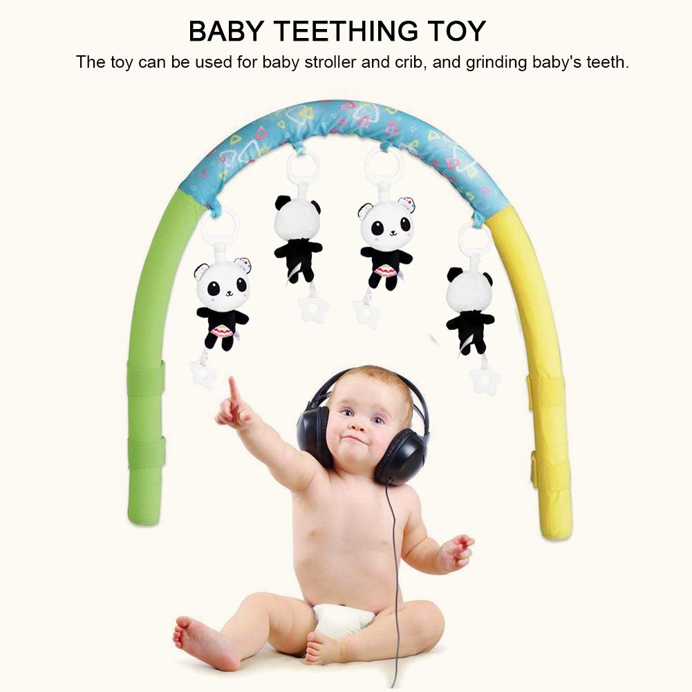 Animal Musical Baby Plush Toy Teether for Kid Hang Gift
