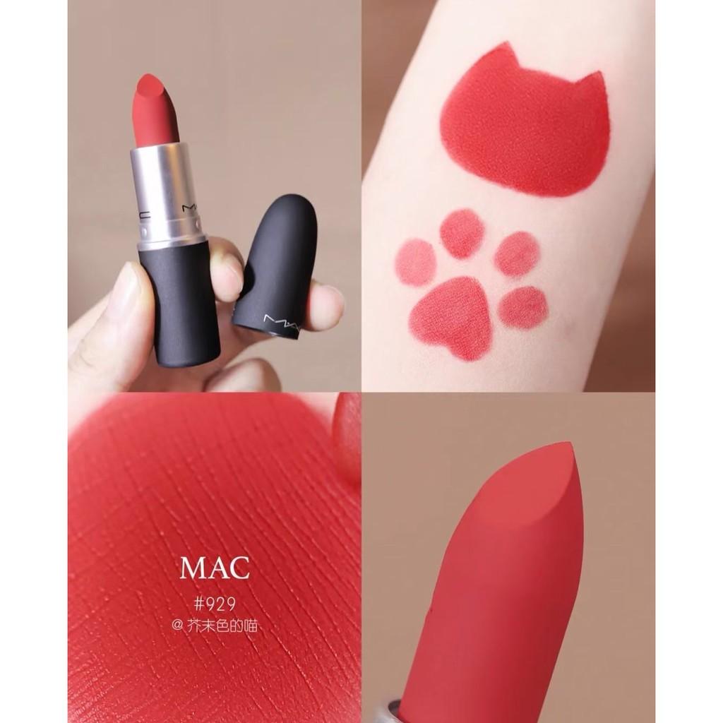 [ SALE LỖ ] Son Mac Powder Kiss Lipstick Full Size 3g, Son Mac thỏi Rettro Matte thanh lí giá gốc