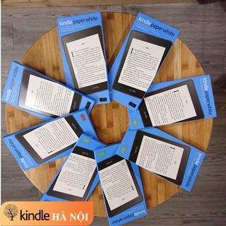 """Máy đọc sách Kindle Paperwhite Gen 4 (10th), màn hình 6"""" 300PPI, Darkmode, chống nước, audible, bộ nhớ 8-32GB"""