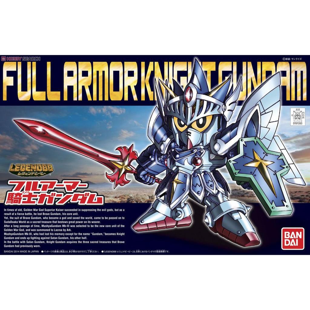 Mô hình Gundam SD Legend BB Full Armor Knight Gundam