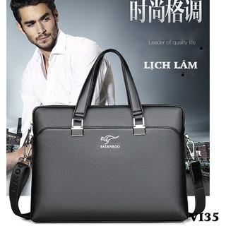 Túi xách nam, túi xách công sở hàng Quảng Châu cao cấp BADENROO HM18-VI35